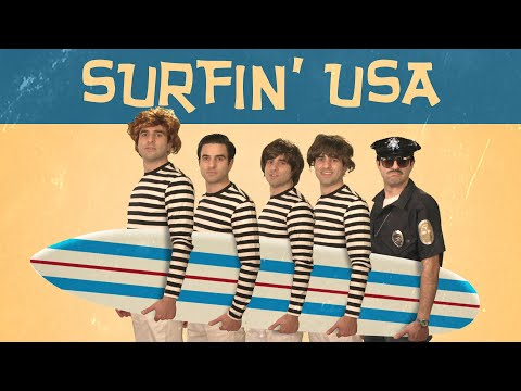 Remy: Surfin' USA (Beach Boys Lockdown Parody)