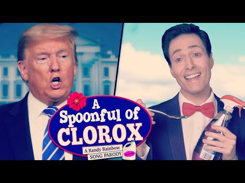 A SPOONFUL OF CLOROX - A Randy Rainbow Song Parody