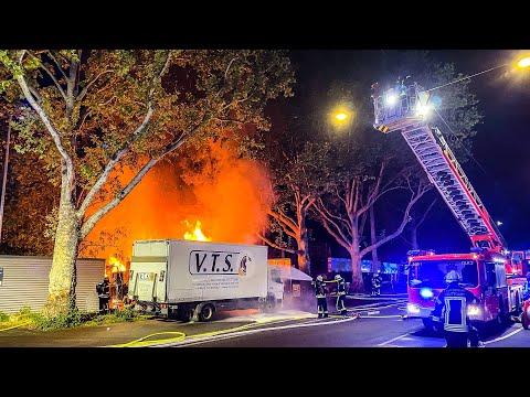 Vor Corona-Demo: Brandanschlag auf Stuttgarter Veranstaltungstechnikfirma