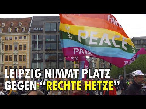 """Leipzig nimmt Platz """"gegen rechte Hetze und Antisemitismus"""" - Really??"""