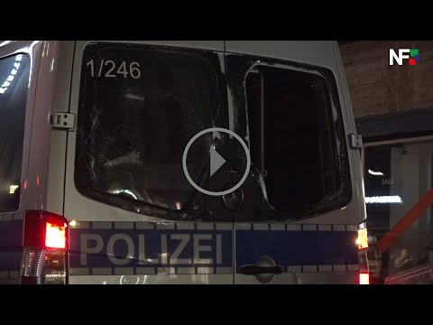 21.06.2020 - Angriffe auf Polizeibeamte und Ladengeschäfte in der Innenstadt