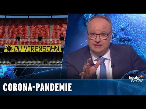 Coronavirus: Deutschland und die Welt im Ausnahmezustand | heute-show vom 13.03.2020