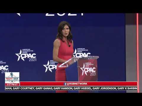 Governor Kristi Noem (R-SD) Full Speech at CPAC 2021 in Orlando, FL 2/27/21