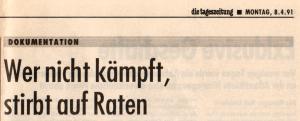 Dokument von 1991