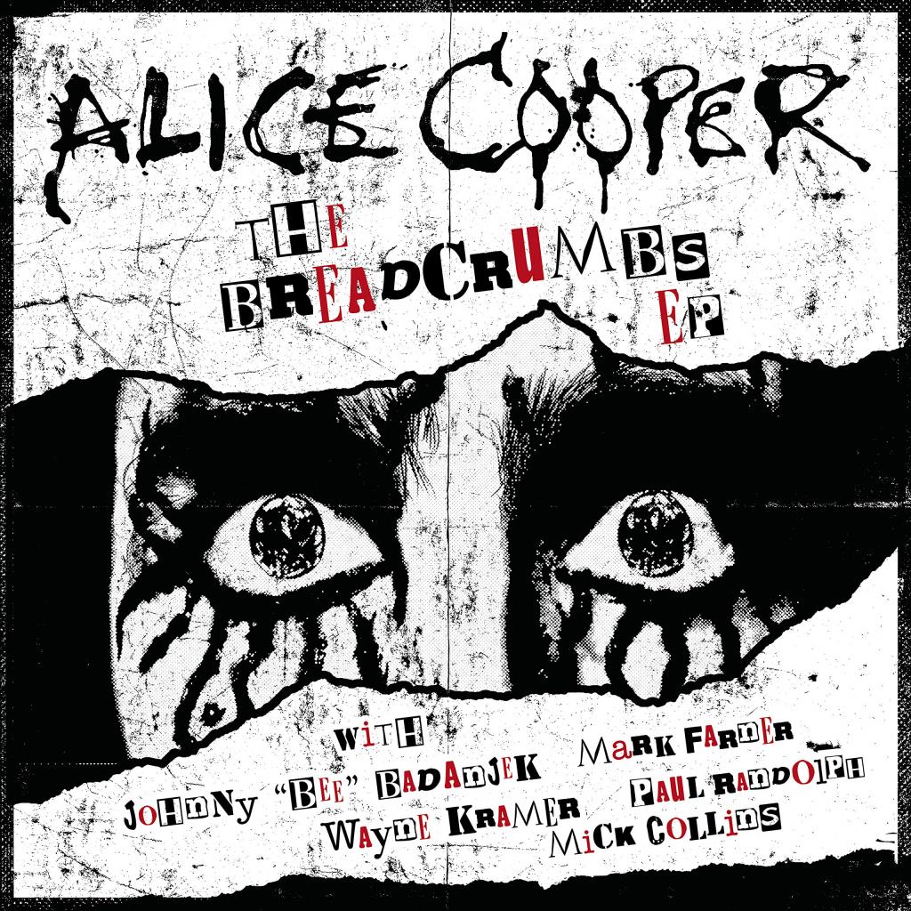 Musik: Alice Cooper – Breadcrumbs (EP)