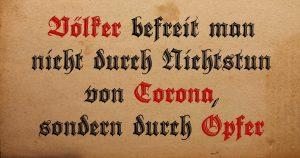 Rechte Sprache der Corona-Zeit