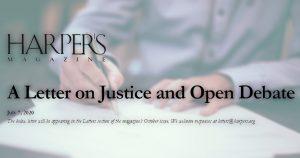 J.K. Rowling, Salman Rushdie, Greil Marcus und andere: Für eine offene Debatte