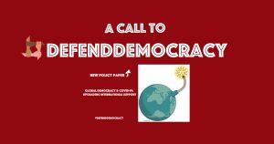 Aufruf zur Verteidigung der Demokratie von Richard Gere, Lech Walesa, Madeleine Albreight, Mario Vargas Llosa und anderen