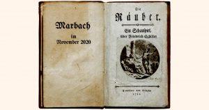 Die Räuber inszenieren Schiller: Drosten in Marbach