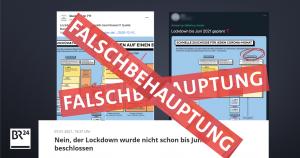 Lockdowns und Falschmeldungen