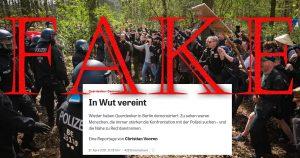 Die Lügenpresse: Manipulieren mit Bildern. Neues aus dem Propagandalehrbuch.